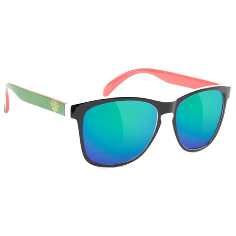 "GLASSY ""Deric x Tico's"" Sunglasses (Green / White / Red)"