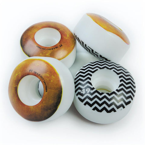 Habitat Twin Peaks Glazed Donut 49mm Wheels