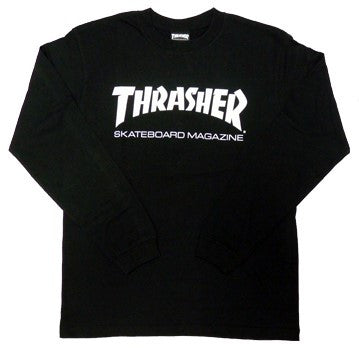 Thrasher Skate Mag Long Sleeve Shirt (Black)