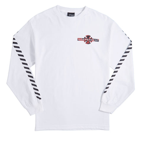 Independent Hazard Long Sleeve (White)