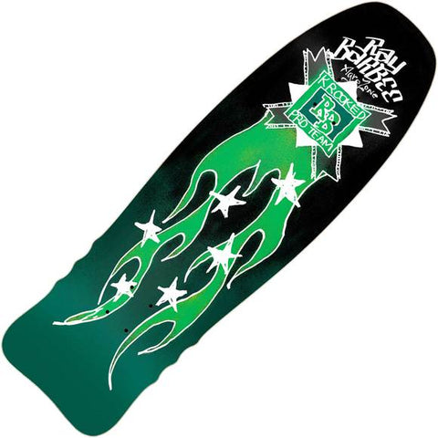 "Krooked Ray Barbee Flames Deck: 10.0"" x 32.0"""