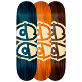 "Krooked Eyes Deck 8.25"" (Assorted Stains)"