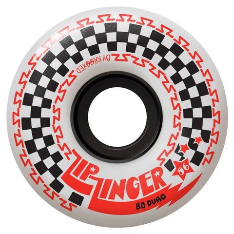 Krooked Zip Zinger 56mm 80A Wheels (White)