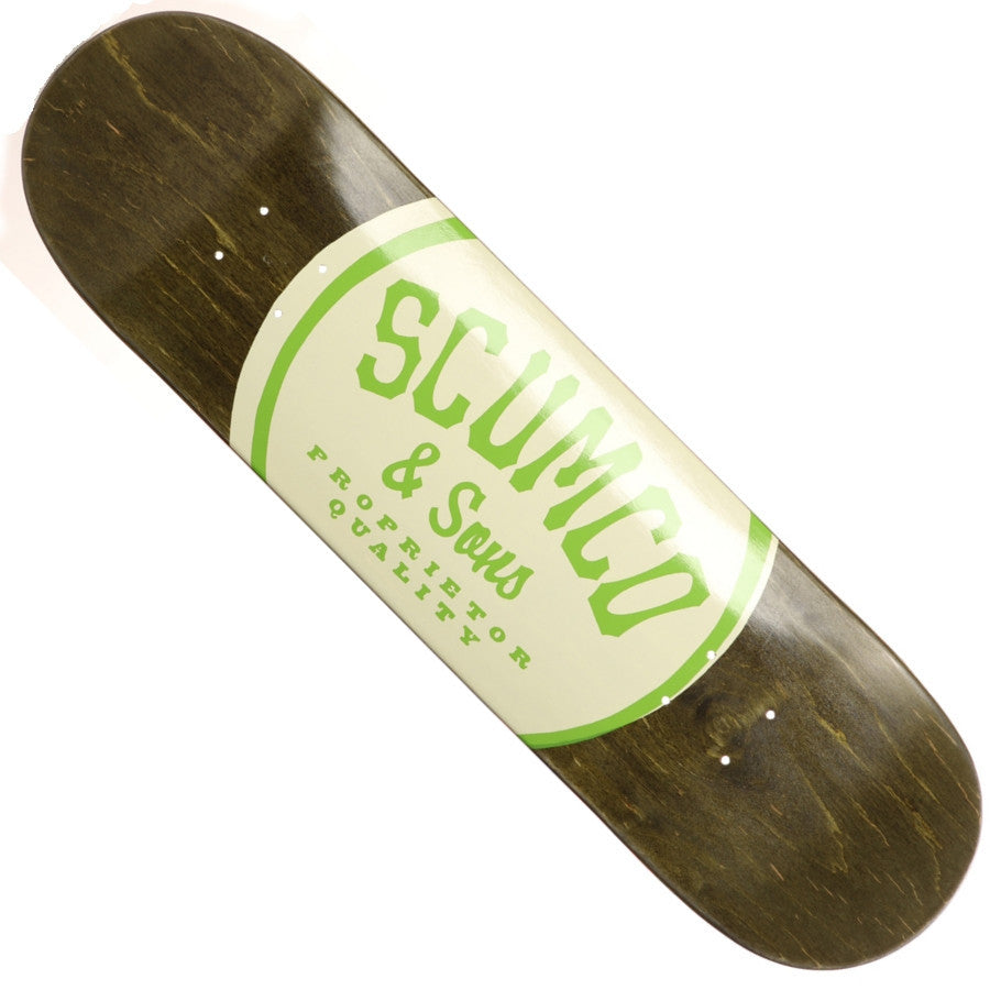 "SCUMCO & SONS ""Logo Board"" Deck: 8.12"""