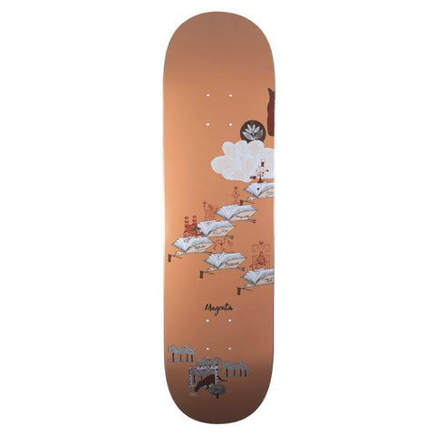 Magenta Bird Clan Deck 8.6""