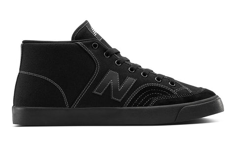 New Balance NM213 (Black Suede/Canvas)