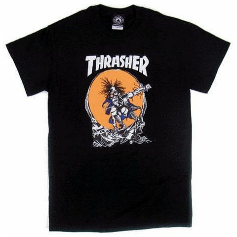 Thrasher Outlaw Pushead Art T-Shirt (Black)