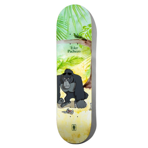 Girl Pacheco Jungle Beers Deck 8.0""