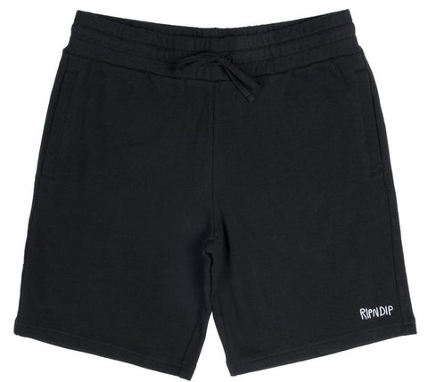 Ripndip Peek A Nermal Sweat Shorts (Black)