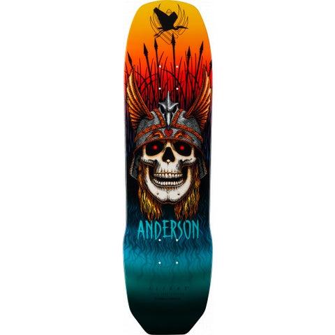 Powell Peralta Pro Andy Anderson Heron Skull Flight® Skateboard Deck 8.45 x 31.8