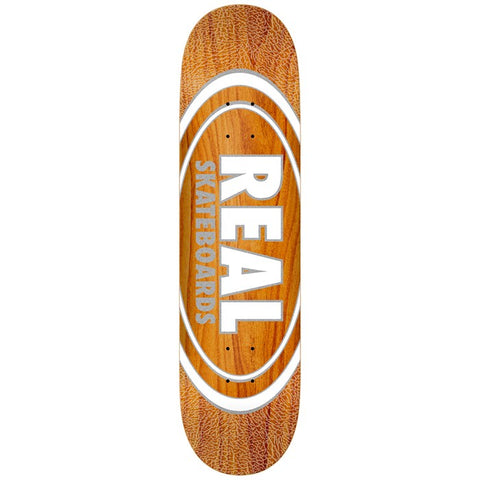 Real Oval Pearl Patterns Deck 8.875""