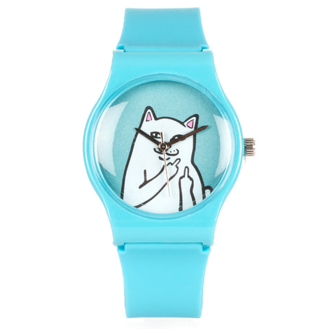 RIPNDIP Lord Nermal Watch (Process Blue)