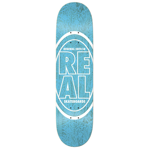 Real Stacked Oval Floral Deck 8.25""