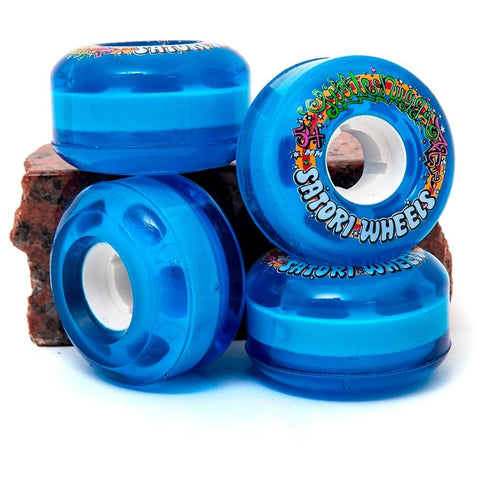 Satori Lil Nugs Blue 54mm 78a Wheels