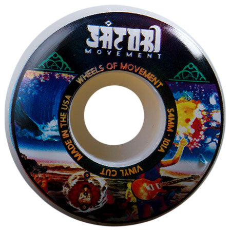 Satori Vinyl Series Vinyl Shape 54mm 101A Wheels (Psychedelic)