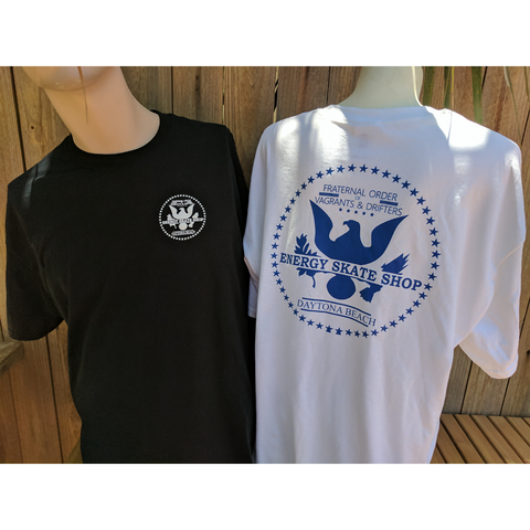 "ENERGY SKATE SHOP ""Seal"" T-Shirt (White)"