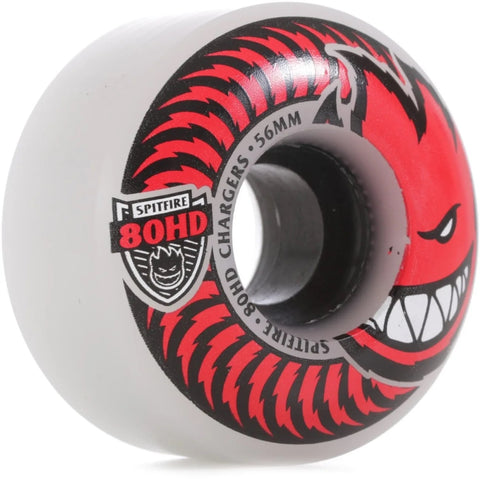 Spitfire 56mm 80HD Chargers Classic Wheels (Clear)