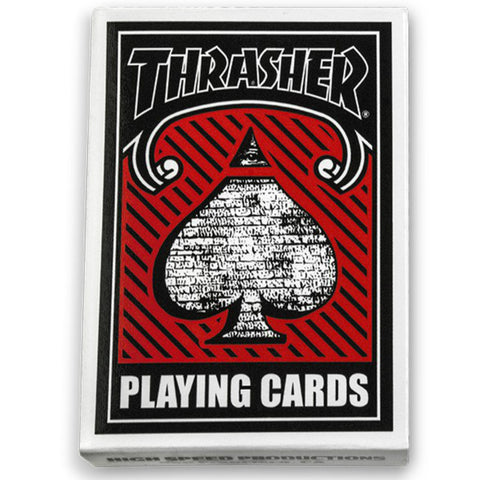 THRASHER Full Deck Of Playing Cards