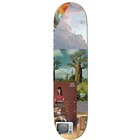 The Killing Floor Lance Chapin Future Shock Skateboard Deck 8.25""