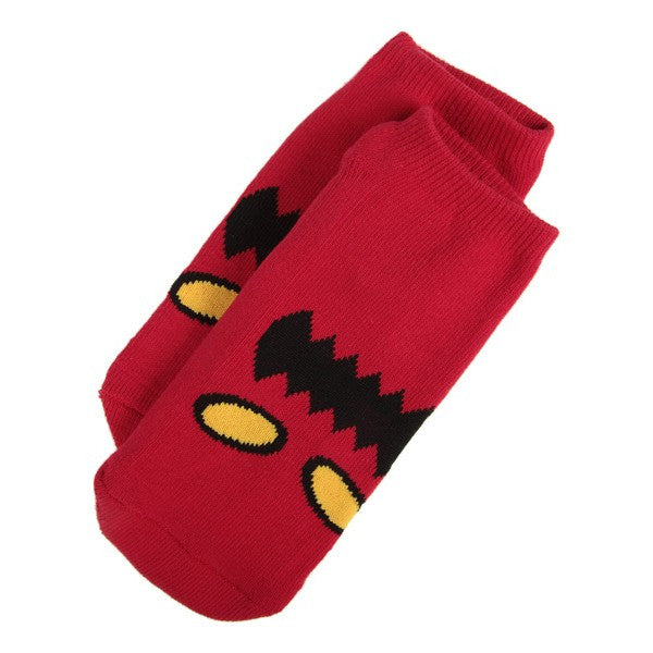 "TOY MACHINE ""Monster Face"" Ankle Socks"