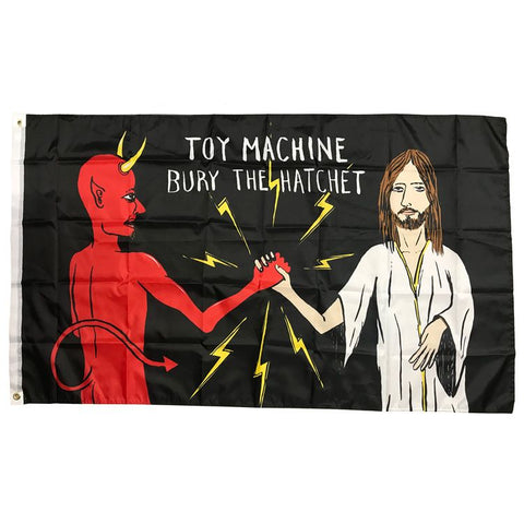 Toy Machine Bury The Hatchet Flag
