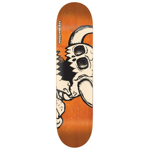 Toy Machine Vice Dead Monster Orange Deck 8.5""