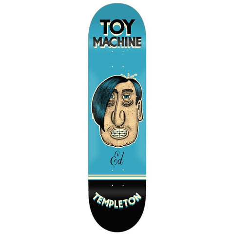 Toy Machine Ed Templeton Pen & Ink 8.5""