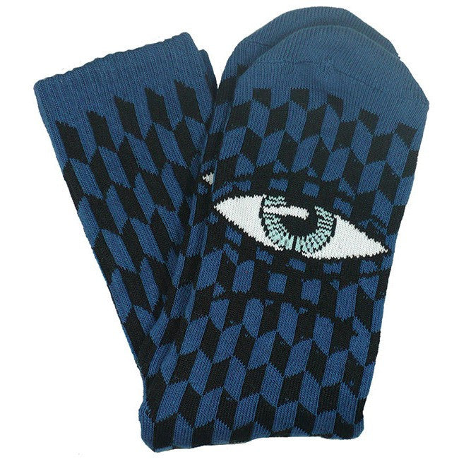"TOY MACHINE ""Sect"" Herring Crew Socks (Blue)"