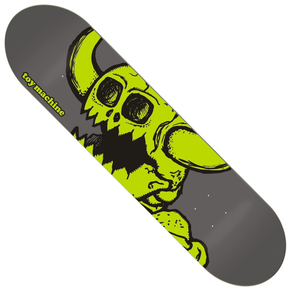 "TOY MACHINE ""Vice Dead Monster"" Deck (Grey): 7.875"""