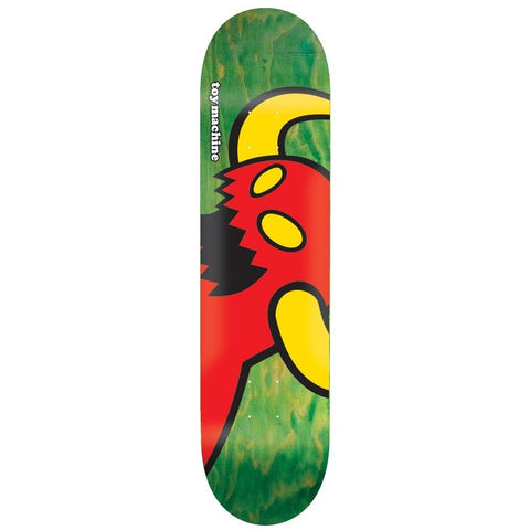 Toy Machine Vice Monster Green Mini Deck 7.38""