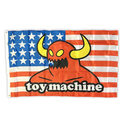 "Toy Machine American Monster Cloth Flag 36"" x 60"""