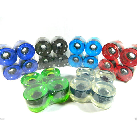 Translucent Longboard Wheels 65mm 78A