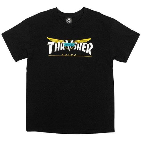 Thrasher Venture Collab T-Shirt (Black)