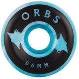 Welcome Orbs Spectres 56mm Blue / White Swirl Wheels