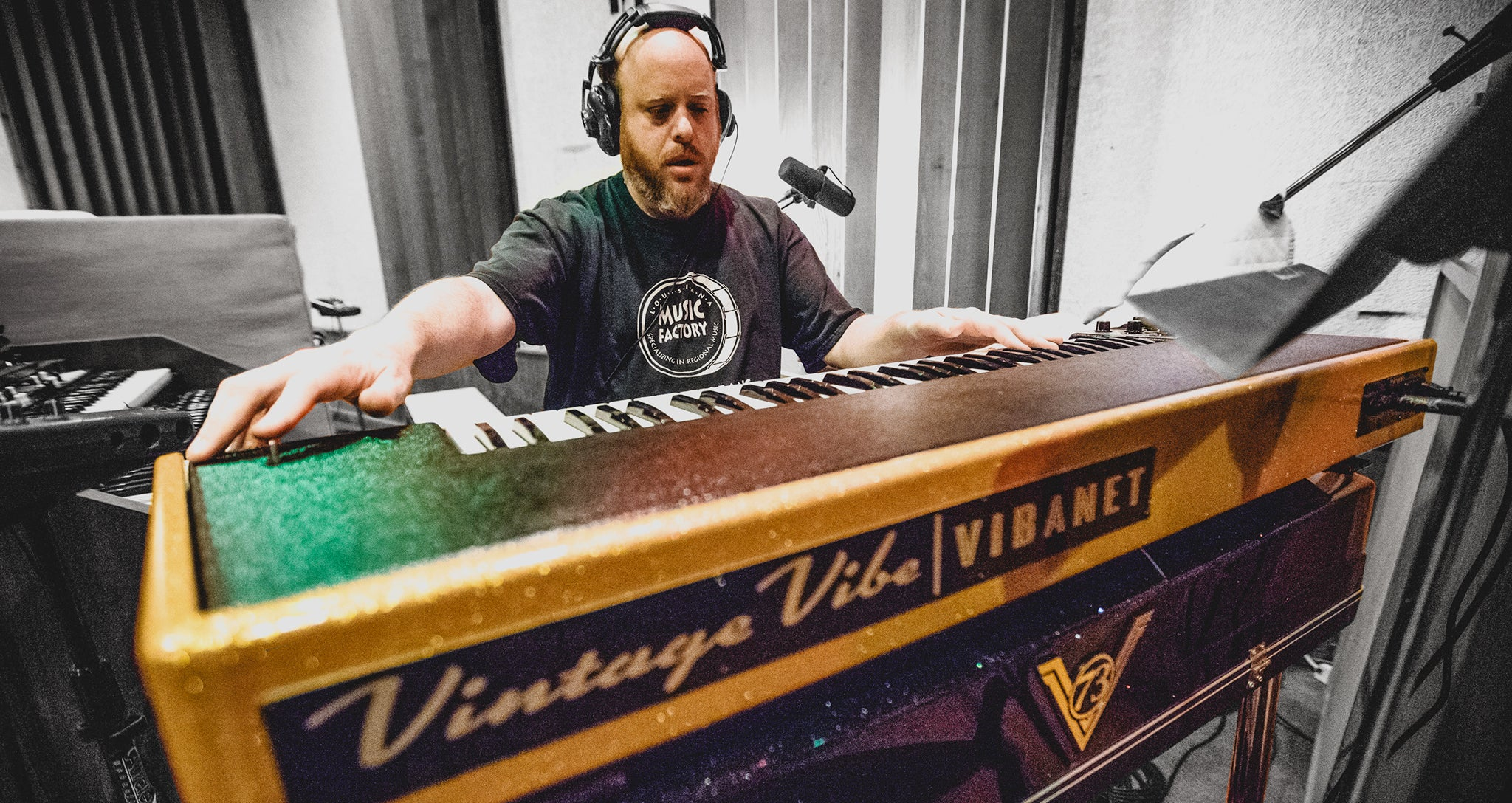 Peter Levin Brings the 'Vintage Vibe' to Muscle Shoals