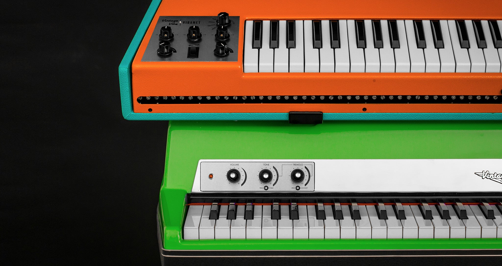Bright + Bold Electric Pianos