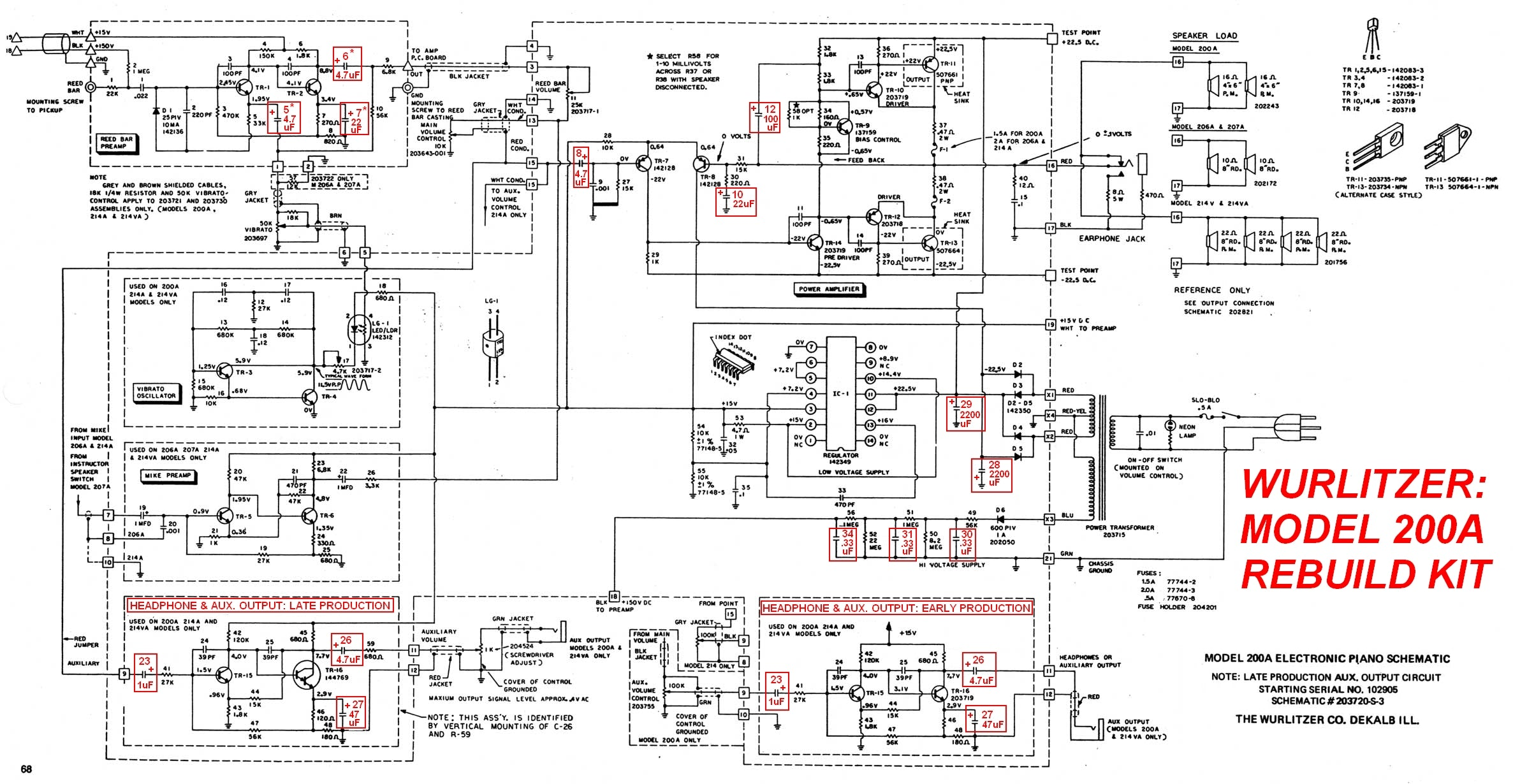 Wurlitzer_200A_ _Rebuild_Kit?4776 electronic piano wiring diagram wiring diagrams  at nearapp.co