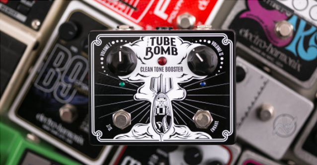 Tube Bomb Pedal Review