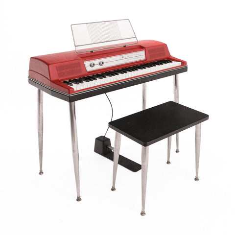Wurlitzer 200 Red Electric Piano 1970 - Vintage Vibe - Vintage Vibe