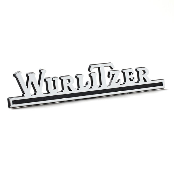 Wurlitzer Chrome Rear Logo