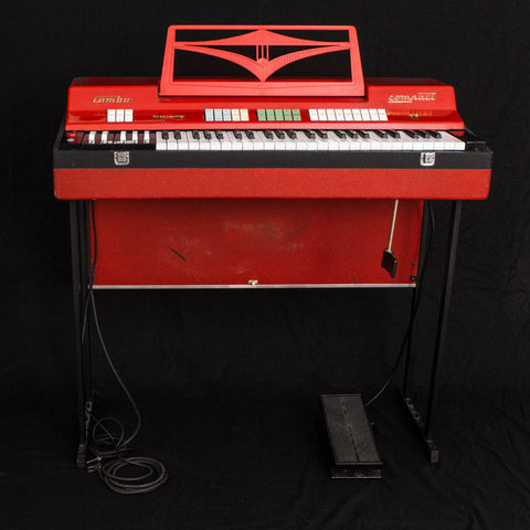 Farfisa Compact Combo Red - Vintage Vibe - Vintage Vibe