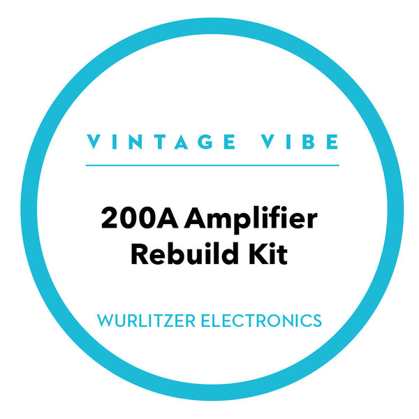Wurlitzer E.P. Parts - Wurlitzer 200A Amplifier Rebuild Kit