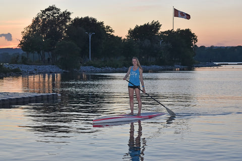 Sunset Paddle - Courtney Bruce