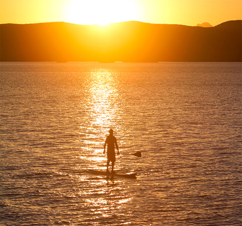 Bob Purdy - Man on a Mission - Sunset SUP