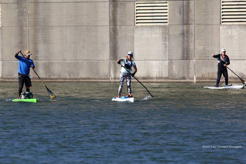 My journey to the Chattajack 31 Mile SUP Race Rachelle Price Concrete wall KM Hawaii