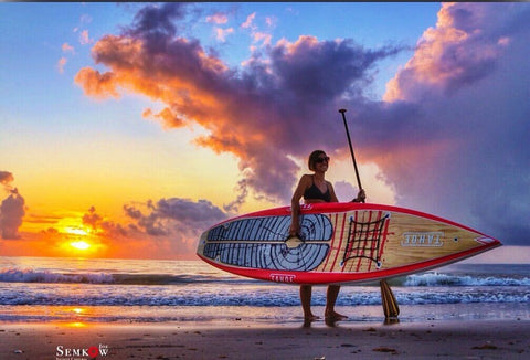 SUP Outdoor Ambassador - Nicole Capra - sunrise