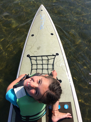 Kwin Morris Ambassador LXV outdoor tahoe tallac sup paddle michigan education paddleboard looking up