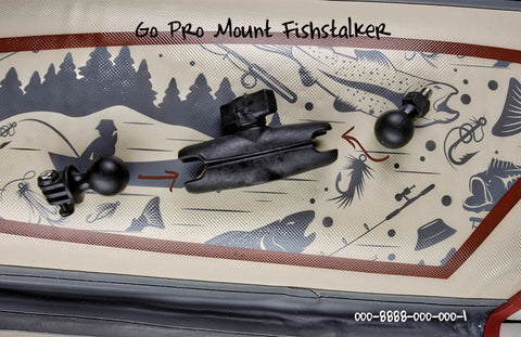 GoPro® Mounting Kit for Fish Stalker