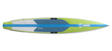"KM Hawaii Compressor HP / On Sale from $1585 / Use Code CARBON55 / Regularly - 12'6"" x 24"" / GREEN/BLUE - Stand Up Paddle Board - SUP Outdoor - 5"