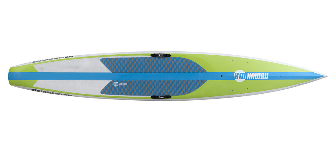 "KM Hawaii Compressor HP / On Sale from $1585 / Use Code CARBON55 / Regularly - 14'0"" x 23"" / GREEN/BLUE - Stand Up Paddle Board - SUP Outdoor - 4"